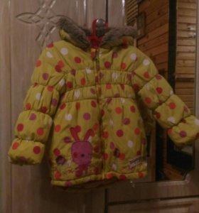Куртка для девочки на 3 года