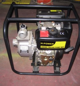 Мотопомпа дизельная HP80D Ø 80 мм, 580 л.м.