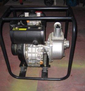 Мотопомпа дизельная HP50D Ø 50 мм, 450 л.м.