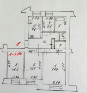 Квартира в Кировске