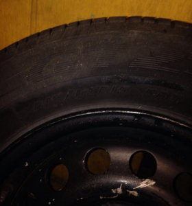 Запасное колесо BMW r15 215/65