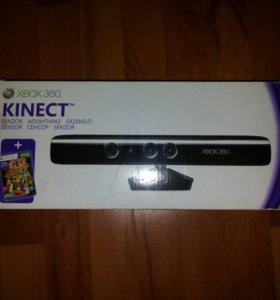 Xbox 360 (белый)+ 2 геймпада+ Kinect+ куча игр