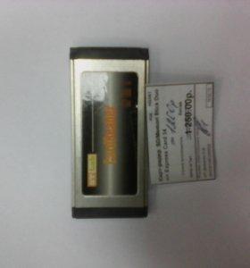 Картридер  Sd/ memori stick duo>express card 34