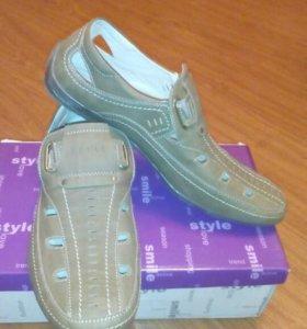 Обувь летние туфли