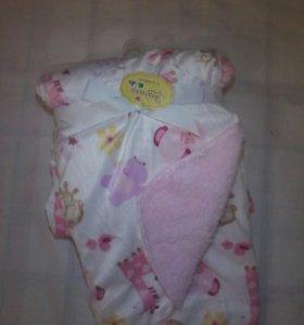Плед-одеяло новый