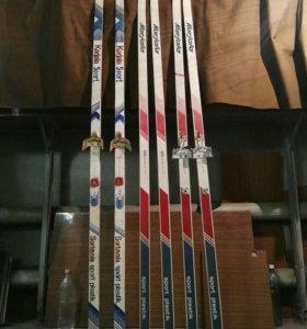Лыжи беговые karjala 205см и 210см