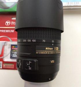 Объектив Nikon 55-300mm f/4.5-5.6q