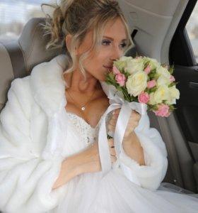 Свадебное платье 👗 42 размер