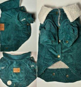 Теплые вельветовые куртки, р. L, XL