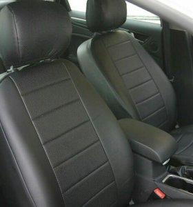 Чехлы на сиденья автомобиля из экокожи