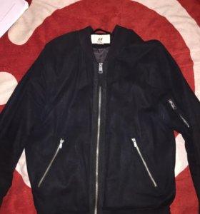 Куртка бомбер мужская H&M