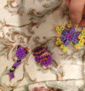 Игрушки, браслеты ручной работы 🎁🌈❤️