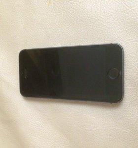 iPhone 5s 16 gb оригинальный , чёрный