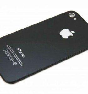 Задняя стеклянная крышка на iPhone 4s