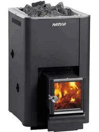 Дровяная печь для бани Harvia 20 boiler WK200B , 6