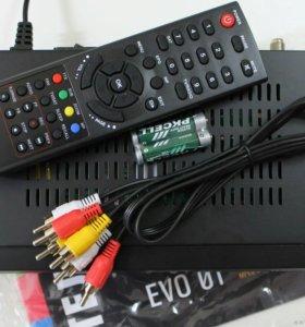 Спутниковый Приемник EVO-01 Телекарта/Globo x90