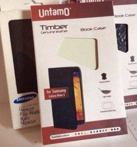 ✅ Galaxy Note 3 Чехол-книжка Untamo