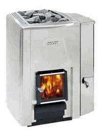 Дровяная печь для бани HARVIA 20 SS Premium VS с б