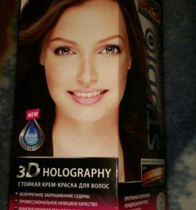 Стойкая крем краска для волос.