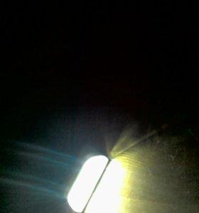 Фонарь лампа светильник с детектором движения
