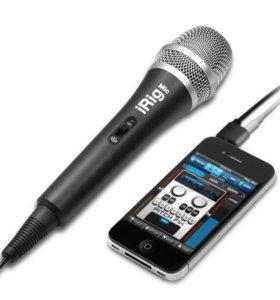 микрофон IK Multimedia mic irig