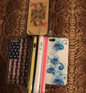Чехлы и бампера на iPhone 5,5S