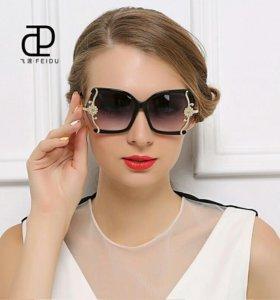 Очки солнцезащитные стильные 👓