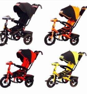 Трёх колёсный велосипед коляска с поворотным сиден