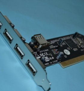 контроллер ST Lab PCI USB 2.0