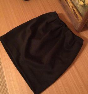 Юбка женская чёрная