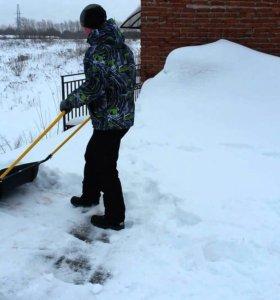 Скинем снег с крыши