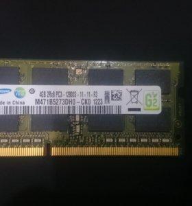 DDR3 4gb ноутбук ( Оперативная память)