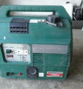 Бензиновый генератор на220v мощность 1kw.