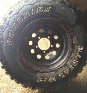 Колеса GOODRIDE 31x10.5R15 LT диски STORM Wheels