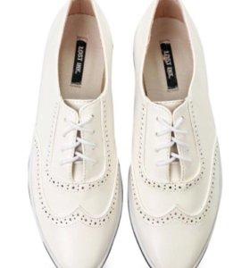 Новые ботинки кеды