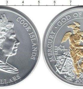10 долларов 2008 года (серебро), Острова Кука