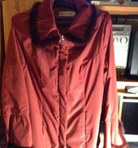 Куртка легкая стильная
