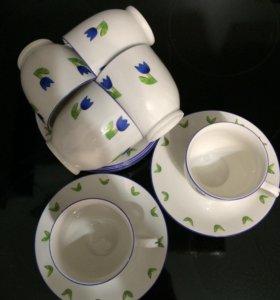Чайные пары, 6 пар