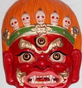 Настенные монгольские маски