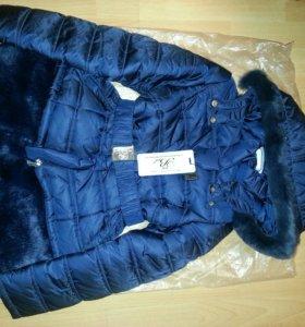 Пальто новое .