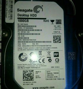 Новый жесткий диск 1Тб