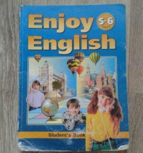 Учебники по английскому 5,6 класс