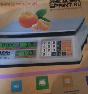 Весы торговые Sprint