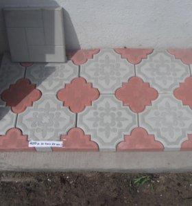 Блоки (20*20*40)(20*12*40) тротуарная плитка
