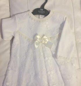 Платье на девочку(рост 86-1,5 года)