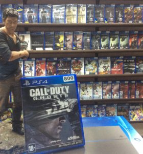 COD Ghosts (PS4)