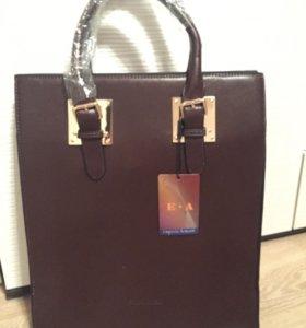 Новая сумка копия Армани большая 35х40 см