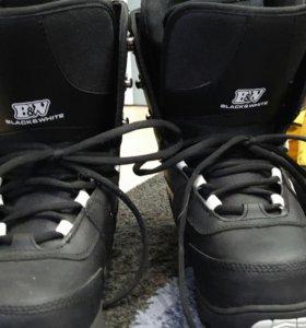 Продам срочно ботинки для сноуборда