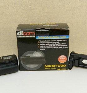 Батарейный блок Dicom NIKd 7000 аналог NikonMB-D11