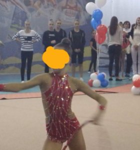 Купальник для художесьвенной гимнастики